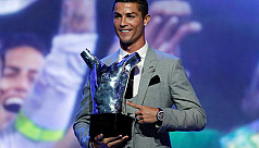 Ronaldo named UEFA player of season...