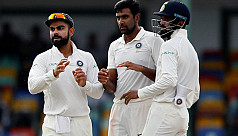 Sri Lanka totter under India's run mountain...