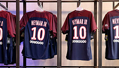 PSG sell 10,000 Neymar shirts on first...