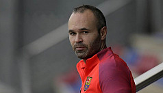 Iniesta to miss Spanish Super Cup...