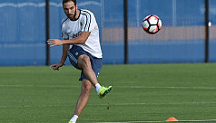 Higuain snubbed for Argentina World...