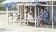 Diseases spreading in flood-hit...
