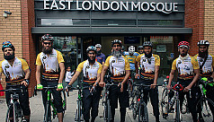 Hajj Ride: Cycling from London to...