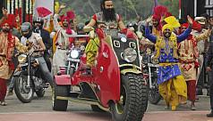 Rape trial of Indian guru triggers security...