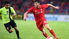 Lallana out injured for a couple of...