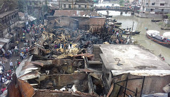 Deadly fire at Chittagong rice wholesale...