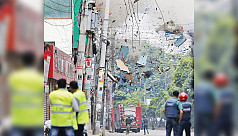 Explosions and gunfire rock Panthapath...