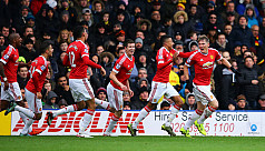 United aim for hat-trick of wins to...