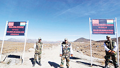 China ups ante in high-altitude standoff...