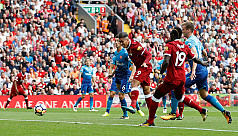 Liverpool shine on bad day for North...