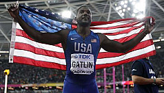 Shocked Gatlin sacks coach after doping...