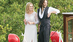 Russell Brand ties the knot with...