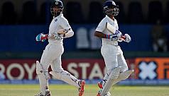 Pujara, Rahane tons put India on top...