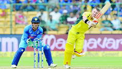 Warner ton helps Australia break India...