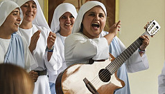 Straight outta Colombia: Nun raps for...