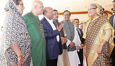 PM Hasina leaves for New York to attend...