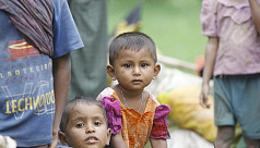 More than 200 Rohingya children have...