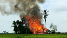 India calls on Myanmar to act with restraint...