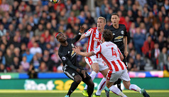 Stoke force draw to end United's perfect...