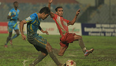 Abahani beat struggling