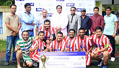 Dhaka Tribune seal Kool-BSJA Media Cup...