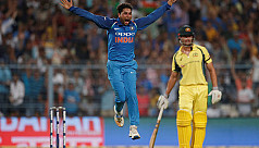 Yadav hat-trick gives India big win...