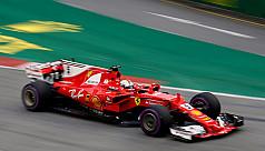 Stunning Vettel grabs Singapore...