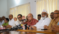 14-party alliance worried about militants...