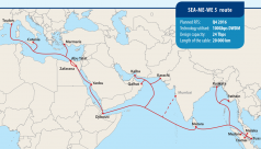 Second submarine cable goes online from...