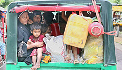 Unregistered Rohingya refugees spreading...