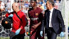 Dembele set to miss four months...
