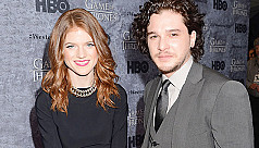 Kit Harington and Rose Leslie to...