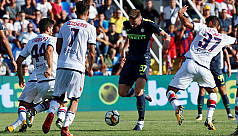 Inter strike late to maintain perfect...