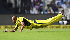 Injured Agar to miss last two India...