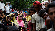 200 Rohingya refugees undergo biometric...