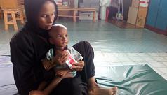 Data shows one in four Rohingya children...