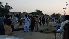 At least 18 killed in suicide blast...