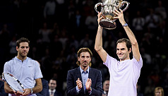 Federer outlasts Del Potro for eighth...