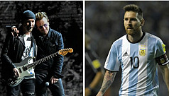 U2 give in to Messi fever, delay Argentina concert