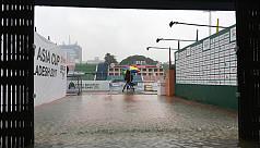 Heavy rainfall creates rare incident...