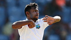 Bishoo five-for puts West Indies in...