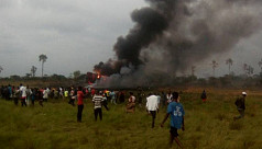 Congo military plane crash in Kinshasa kills 12