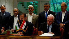 Hamas, Fatah sign deal on Palestinian...