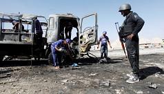 Pakistani Taliban suicide bomber rams...