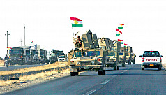 Iraqi forces complete takeover of Kirkuk...