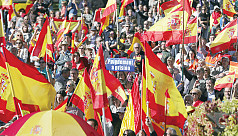 Thousands rally in Madrid, urge jailing...