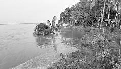 River erosion: Prosperity turns into...