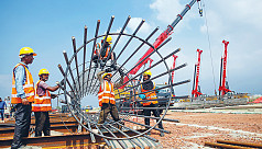 Metro rail project: Construction continues...