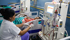 Kidney dialysis at Tk800