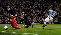 Spurs hold Real as Man City down...